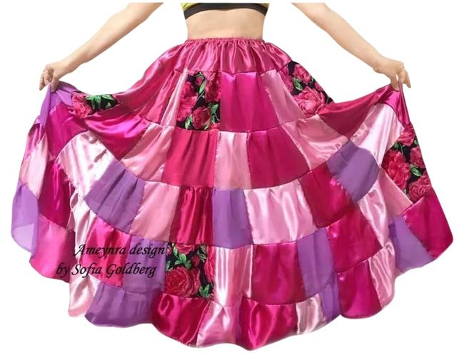 Preload https://img-static.tradesy.com/item/26530867/pink-patchwork-multicolor-collection-skirt-size-8-m-29-30-0-1-650-650.jpg