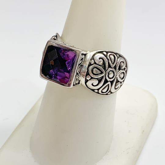 Other GORGEOUS!! Sterling Silver and Purple Stone Ring Image 2