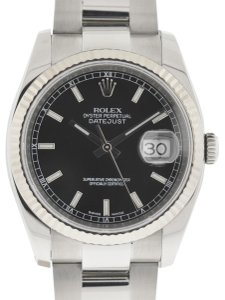 Rolex Rolex 116234 Datejust Stainless Steel 36mm Black Dial Automatic Watch