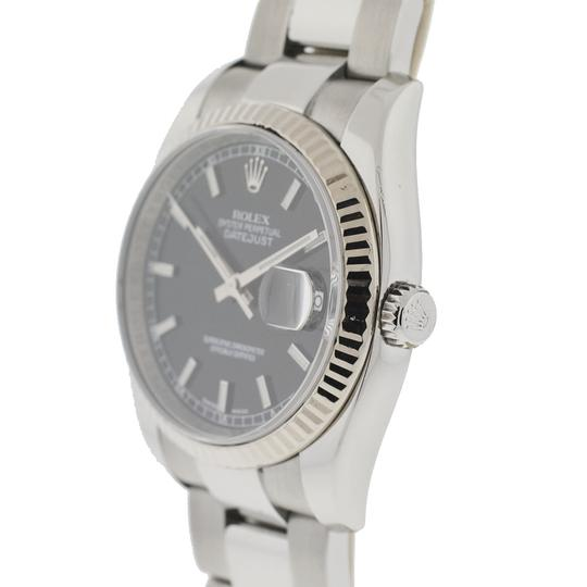 Rolex Rolex 116234 Datejust Stainless Steel 36mm Black Dial Automatic Watch Image 1