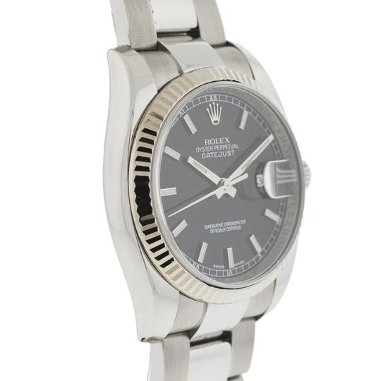 Rolex Rolex 116234 Datejust Stainless Steel 36mm Black Dial Automatic Watch Image 4