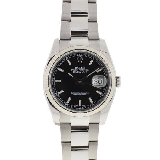 Rolex Rolex 116234 Datejust Stainless Steel 36mm Black Dial Automatic Watch Image 6
