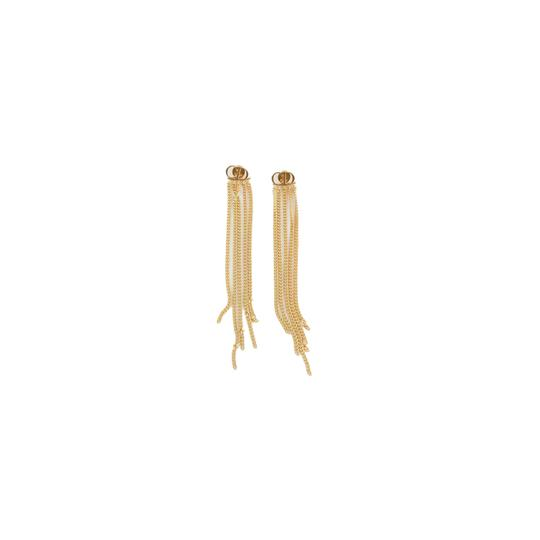 Dior Dior CD Studs with Golden Strings Earrings Image 2