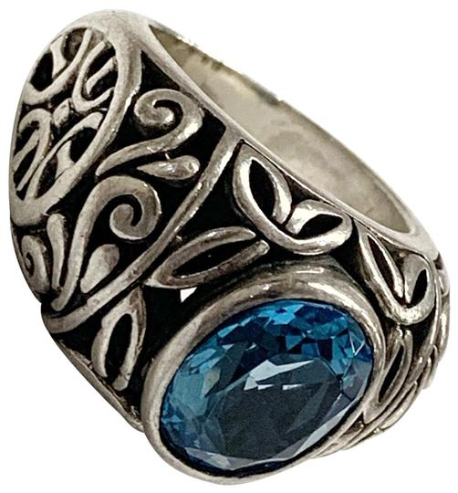 Preload https://img-static.tradesy.com/item/26530894/sterling-silver-and-blue-stone-ring-0-1-540-540.jpg