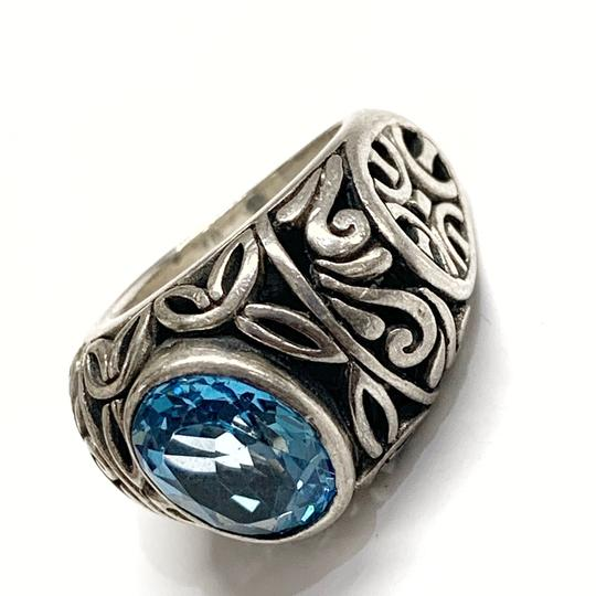 Other GORGEOUS!! Sterling Silver and Blue Stone Ring Image 1