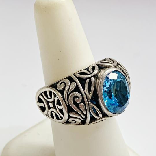 Other GORGEOUS!! Sterling Silver and Blue Stone Ring Image 4
