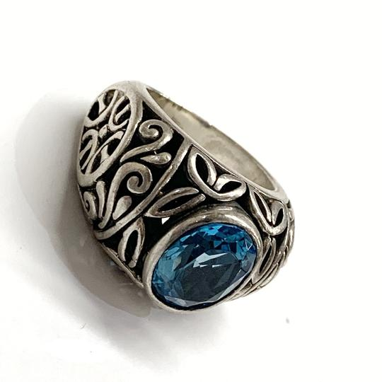 Other GORGEOUS!! Sterling Silver and Blue Stone Ring Image 6