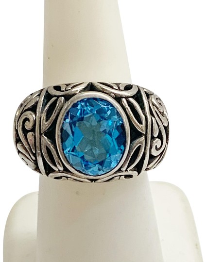 Preload https://img-static.tradesy.com/item/26530901/sterling-silver-and-blue-stone-ring-0-1-540-540.jpg