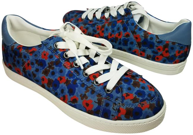 Item - Blue Porter Lace-up Style G4009 Sneakers Size US 7 Regular (M, B)
