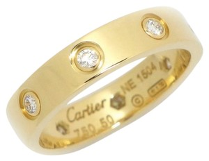 Cartier Love Ring 8P Diamond 18KT Yellow Gold