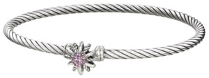 David Yurman Sterling silver David Yurman Starburst Pink Sapphire bracelet
