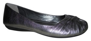 Gianni Bini Leather Mbc pewter Flats