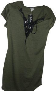 French Atmosphere short dress green Athletic Bodycon Tunic Juniors Holiday on Tradesy