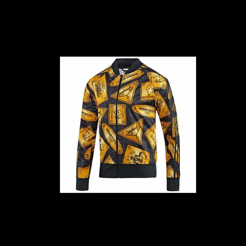 Adidas Originals ObyO Jeremy Scott PLAQUE TRACKSUIT JACKET TOP *KINGSMAN* SIZE L