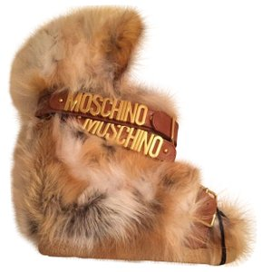 moschino brown Boots