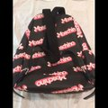 Moschino Ss15 Couture Jeremy Scott Black Barbie Logo Cute and Rare Pink Pvc Backpack Moschino Ss15 Couture Jeremy Scott Black Barbie Logo Cute and Rare Pink Pvc Backpack Image 4