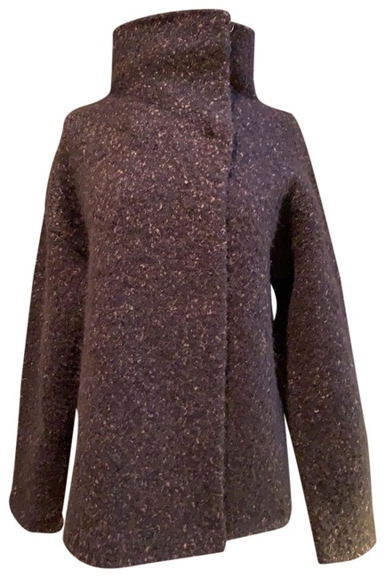 Eileen Fisher Marled Grape Rn78121 Jacket Size 6 (S) Eileen Fisher Marled Grape Rn78121 Jacket Size 6 (S) Image 1