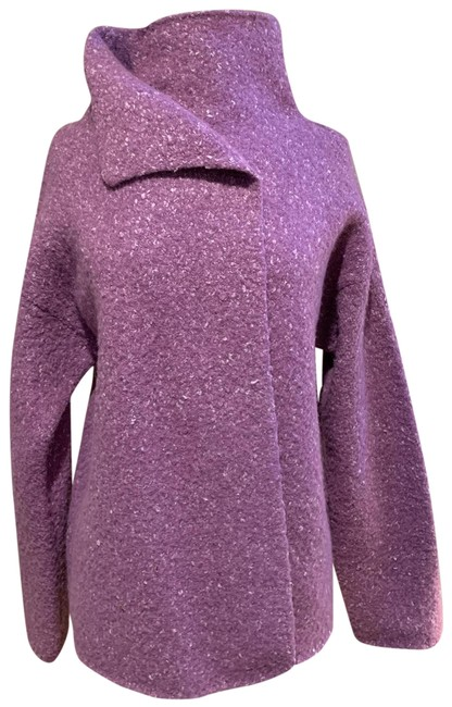 Item - Marled Purple Rn78121 Jacket Size 6 (S)