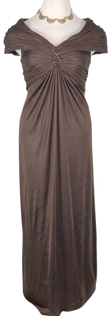 Item - Brown Gown Long Formal Dress Size 10 (M)
