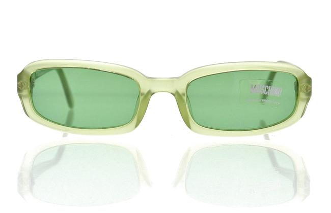 Item - Green Transparent M3605-s 316/2 51mm Rectangle Sunglasses