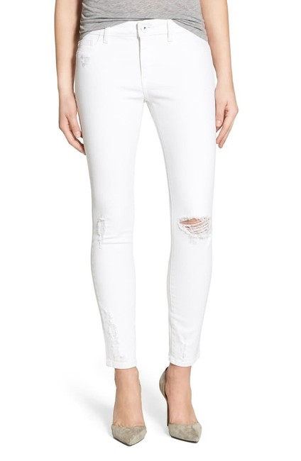 Item - White Margaux Instasculpt Ankle Skinny Jeans Size 4 (S, 27)