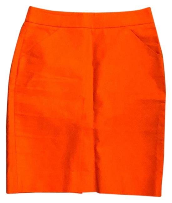 J.Crew Red Pencil Skirt Size 2 (XS, 26) J.Crew Red Pencil Skirt Size 2 (XS, 26) Image 1