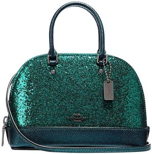 Coach Mini Alma Bb Louis Vuitton Alma Crossbody Speedy Doctors Iphone Android Samsu Satchel in Emerald/Green