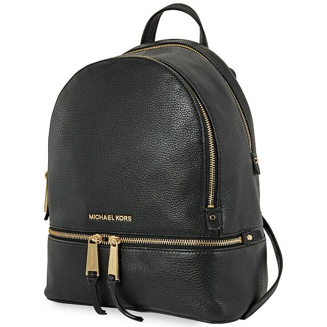 Item - Rhea Zip Medium (New with Tags) Black/Gold Hardware Venus Leather Backpack