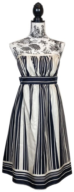 Corey Lynn Calter Black and Cream Anthropologie Bared Branches Short Cocktail Dress Size 12 (L) Corey Lynn Calter Black and Cream Anthropologie Bared Branches Short Cocktail Dress Size 12 (L) Image 1