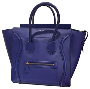 Céline Tote in Royal Blue