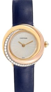 Cartier Cartier Trinity White Yellow Rose Gold Diamond Ladies Watch WG200151