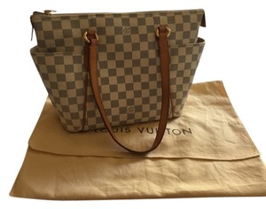 Louis Vuitton Totally Pm Lv Damier Damier Azur Shoulder Bag