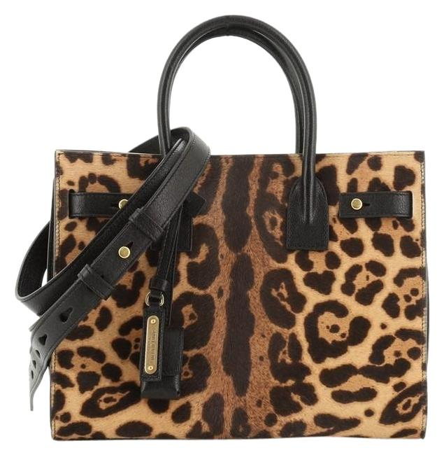 Item - Sac de Jour Baby Print Multi Color Pony Hair Satchel