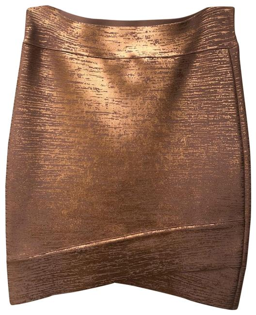 Item - Rose Gold Bandage Skirt Size 8 (M, 29, 30)