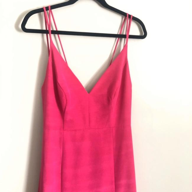 LulaKate Pink Henley Trumpet Style Formal Bridesmaid/Mob Dress Size 4 (S) LulaKate Pink Henley Trumpet Style Formal Bridesmaid/Mob Dress Size 4 (S) Image 7