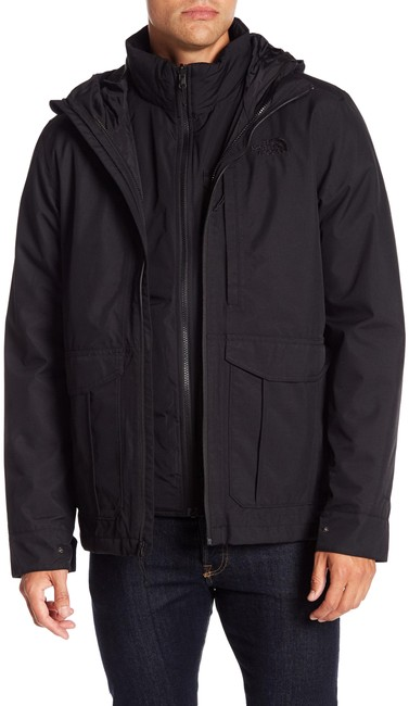 Item - Black * Mens * Cross Boroughs Triclimate(R) Waterproof 3-in-1 Jacket Coat Size 4 (S)