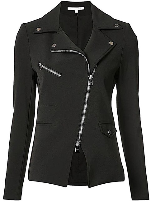 Item - Black with Tag Scuba Hadley Zip-front Jacket Size 2 (XS)