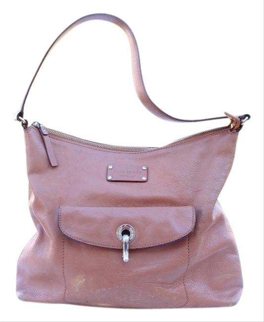 Item - Tan Leather Hobo Bag