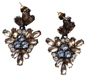 BaubleBar Baublebar | Statement Earrings Blue Bronze Taupe