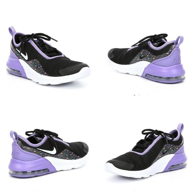 Item - Purple/ Black Nwot Girls' Air Max Motion 2 Shoes-size 5y Girls Sneakers Size US 5 Regular (M, B)