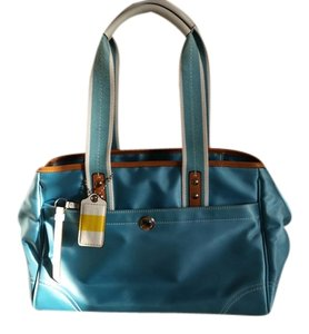 Coach Summer Preppy Satchel in blue