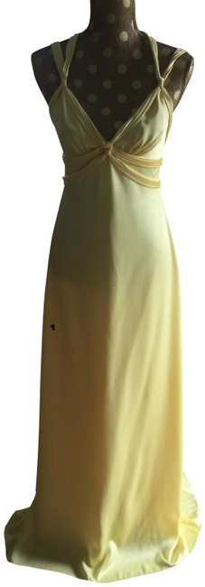 Item - Yellow See Picture Long Formal Dress Size 2 (XS)
