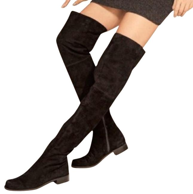 Item - Black Hilo Suede Knee High Boots/Booties Size US 9 Regular (M, B)