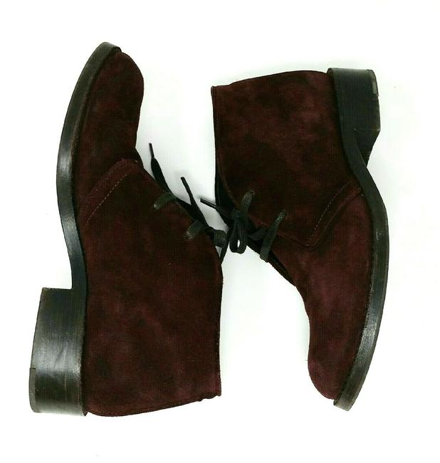 Item - Plum Suede Leather Ankle Classic Boots/Booties Size EU 36.5 (Approx. US 6.5) Narrow (Aa, N)