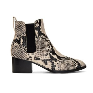Rag & Bone Black and off white Boots