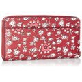 Coach Red Wild Heart Floral Printed Accordion Zip In Multi. F57832 Wallet Coach Red Wild Heart Floral Printed Accordion Zip In Multi. F57832 Wallet Image 2