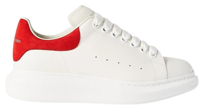 Item - Suede-trimmed Leather Exaggerated-sole Sneakers Size EU 41.5 (Approx. US 11.5) Regular (M, B)