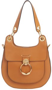 Item - Medium Tess Brown Leather Shoulder Bag