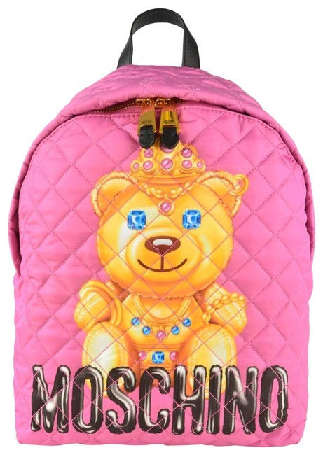 Item - Couture Jeremy Scott Crown Teddy Bear Pink Backpack