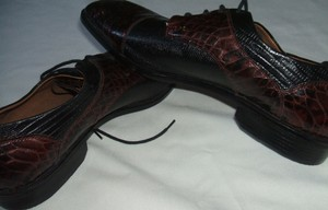 Stacy Adams New! Stacy Adams Genuine Leather Men's Dress Shoes 9.5m Black/brown Nwob